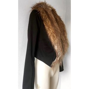 Twelfth Street by Cynthia Vincent Jackets & Coats - TWELFTH STREET CYNTHIA VINCENT FUR ARIZONA JACKET